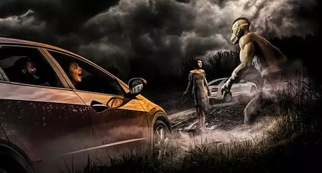uk's first drive-thru horror maze is coming this halloween and it looks terrifying