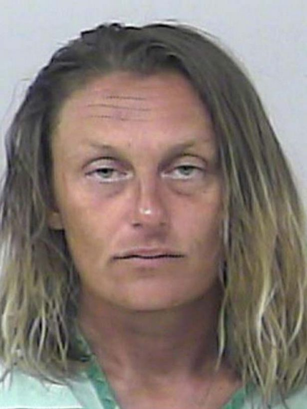 florida woman arrested after 'stripping naked and using sex toy' at adult store