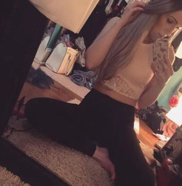 if you are going to pose for a sexy selfie, you should at least clean your damn room first