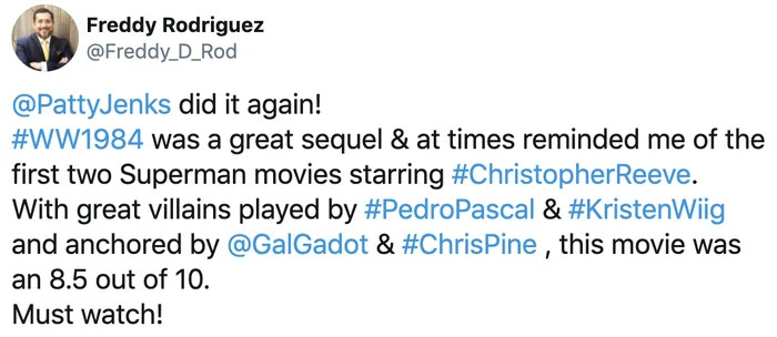 'wonder woman 3' announced, gal gadot and director patty jenkins will return