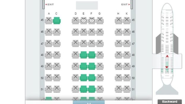 airline introduces booking system that shows where babies are seated