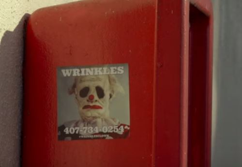 you can now hire wrinkles the clown to scare your misbehaving kids