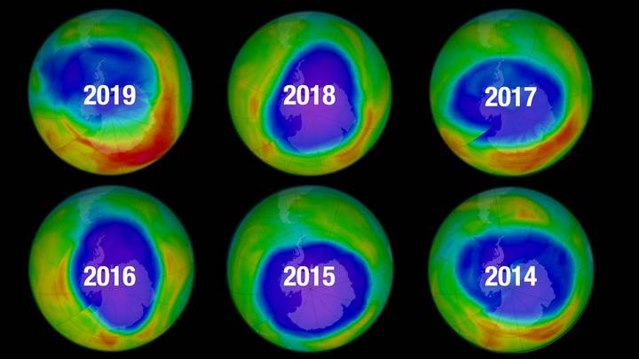 experts say earth's ozone layer appears to be healing