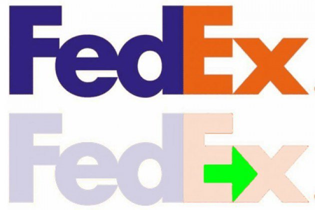 hidden images in logos that prove companies are actually pretty clever