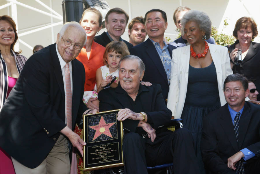 james doohan, the 'star trek' actor who was a wwii hero: he took out two german snipers and survived being shot six times during d-day in world war ii