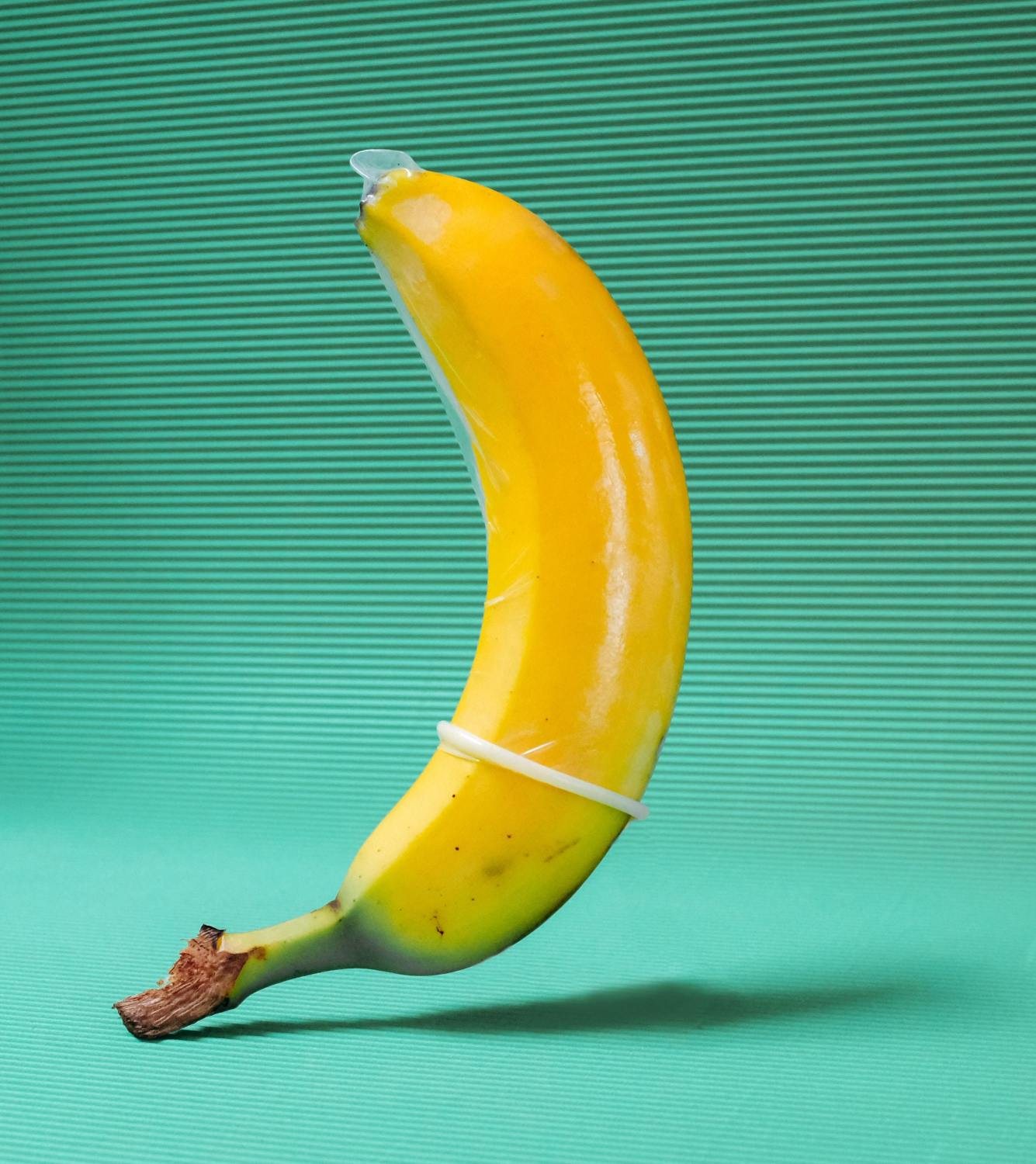 guys are apparently pleasuring themselves using bananas, and it's a problem