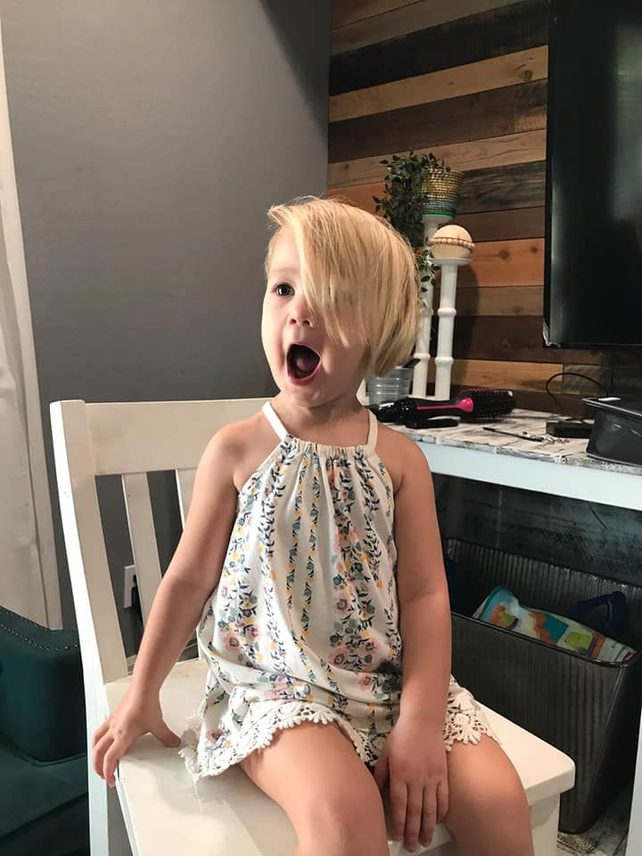 hair dresser steps in, transforms toddler's accidental diy haircut into a fabulous style