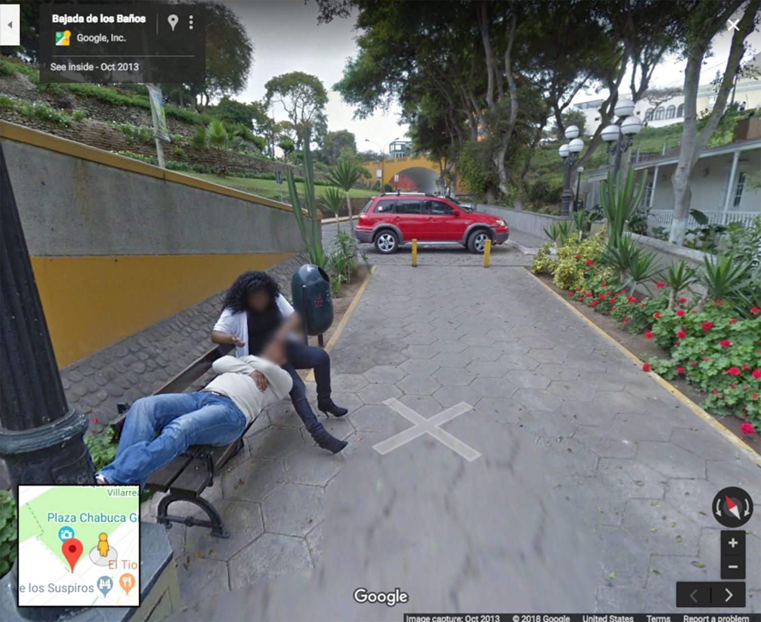 husband catches cheating wife in the act thanks to google street view