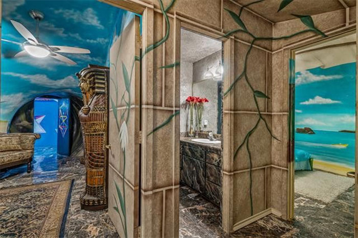 this colorful, $2.25m texas home is entirely underground — take a look inside!