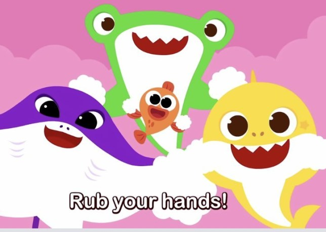 when everything else seems to fail, baby shark releases new song about washing hands