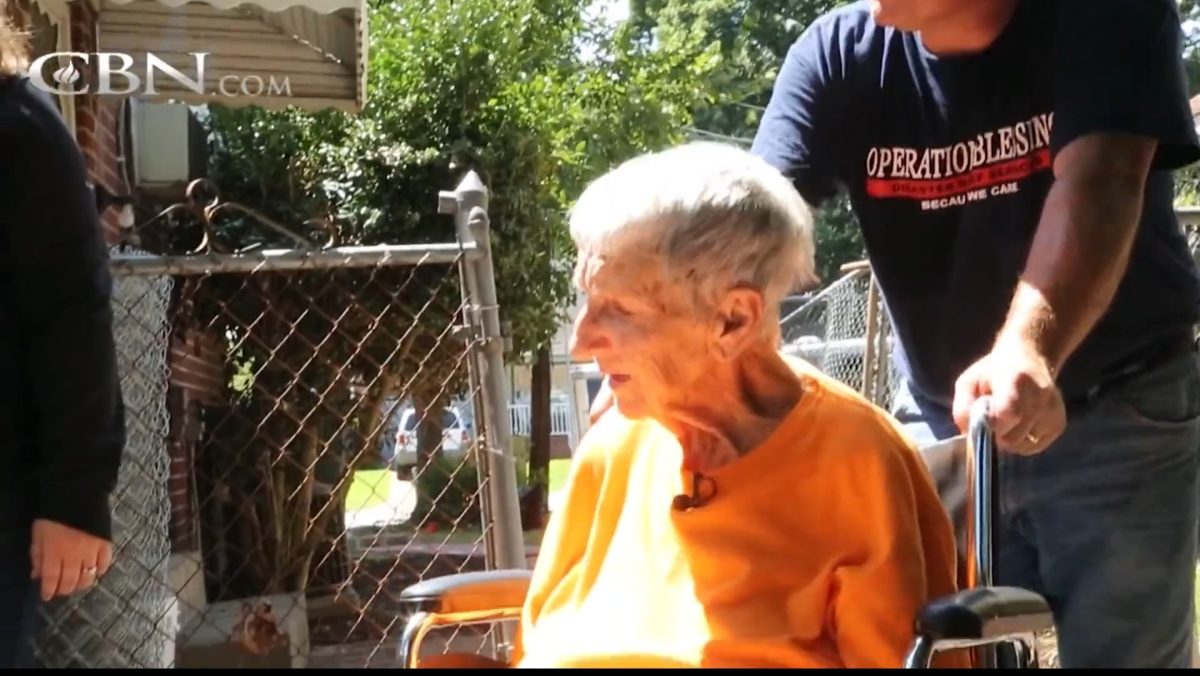 widow with nowhere to turn is overwhelmed by kindness