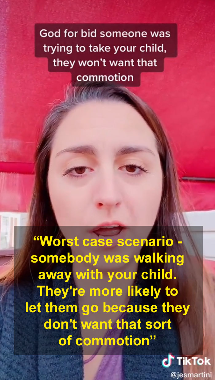 """woman finds her missing toddler in a supermarket with the help of a """"hack"""" she saw on tiktok"""