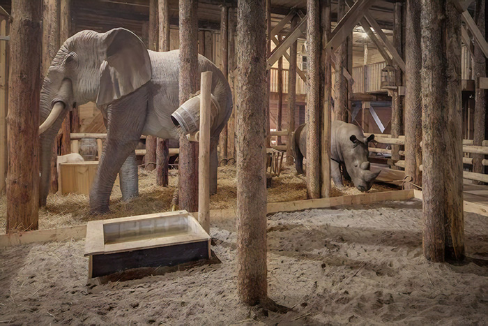 man built a full-size replica of noah's ark