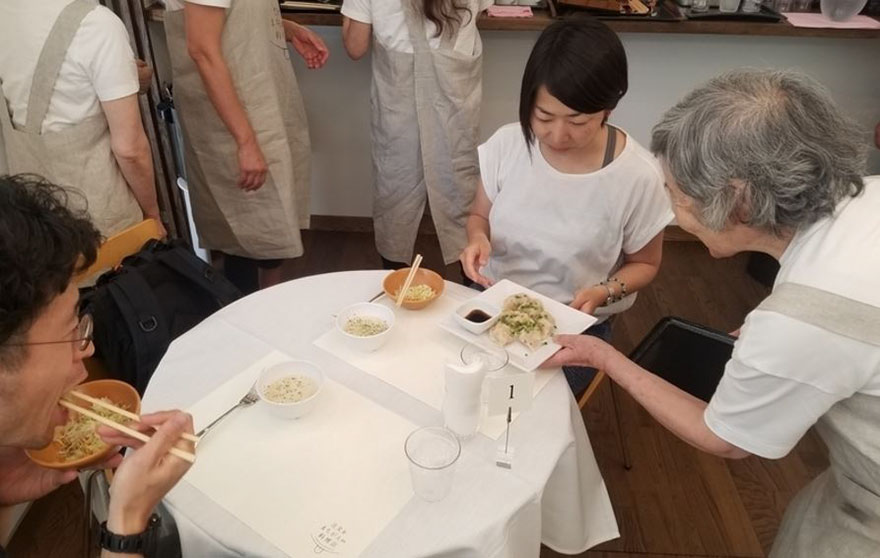 'the restaurant of order mistakes' employs waiters with dementia, and you never know what you're getting