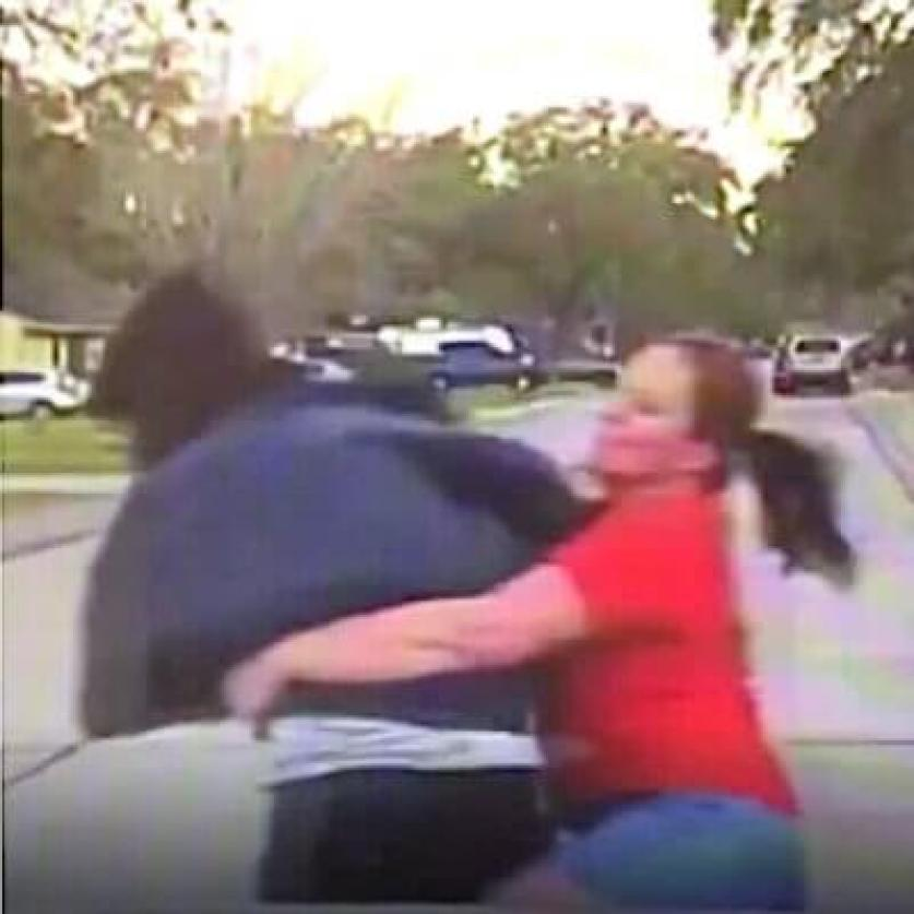 furious texas mom tackles man accused of peeping through her 15-year-old daughter's bedroom window