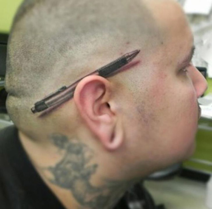 21 tattoos you wouldn't know whether to laugh or cry at