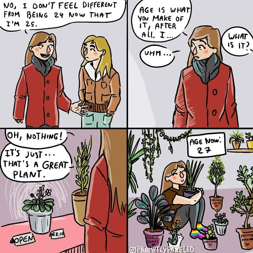30 hilarious comics about a girl's everyday problems that you'll relate to