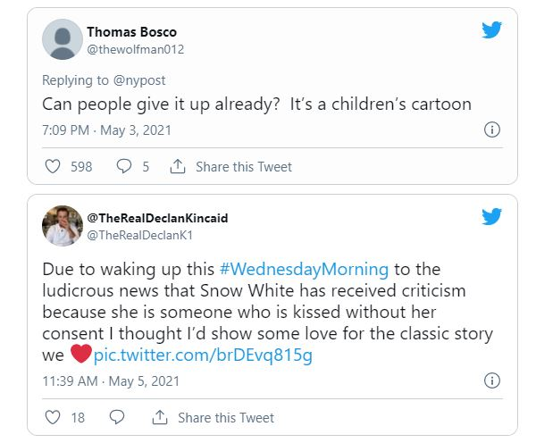 People Call On Disney To 'change The Plot Line' Of 'snow White' Because It Promotes 'kissing Without Consent'
