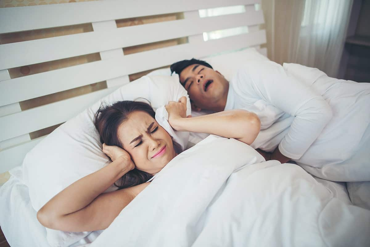 The Snore Swatter Allows You To Smack Your Spouse When They Snore