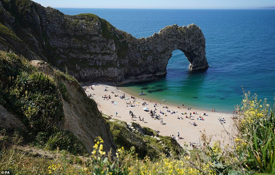 Man Air-lifted To Hospital After Jumping 200ft From Durdle Door In Shocking Video