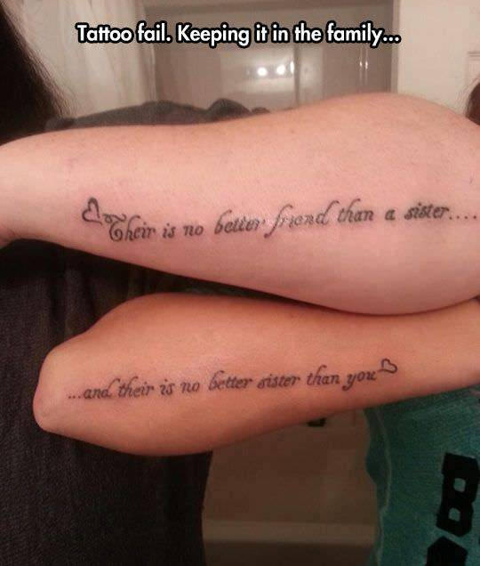 The Most Hilarious Spelling Mistakes Ever Seen In Tattoos