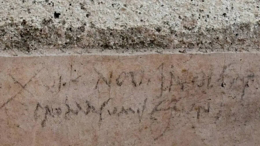 Pompeii Graffiti Shows Just How Raunchy Ancient Romans Really Were