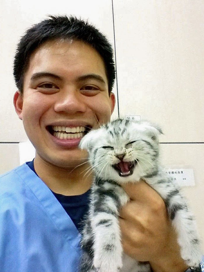 50 Times Vets Encountered The Cutest Pets At Work, And Just Had To Take A Picture