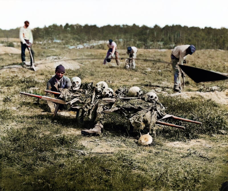 Colorized Civil War Photos Bring America's Deadliest Conflict To Life