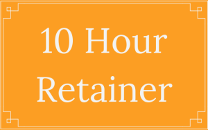 10 Hour Retainer - Thought Penny