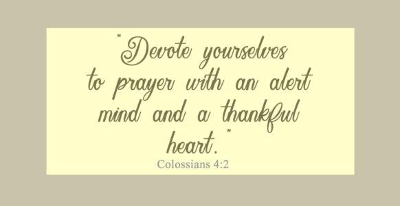 Sorrowful to Thankful