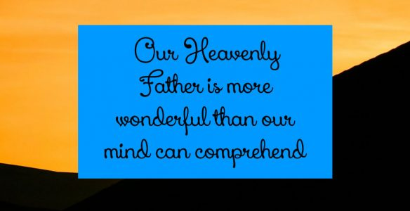 Portrait of Your Heavenly Father