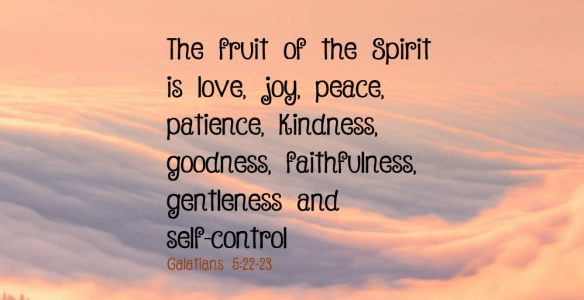 Blessing of the Fruit of the Spirit