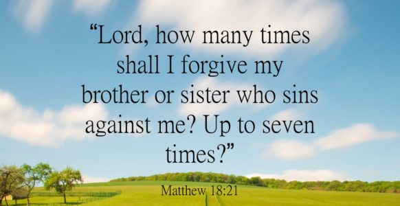 Costly Forgiveness