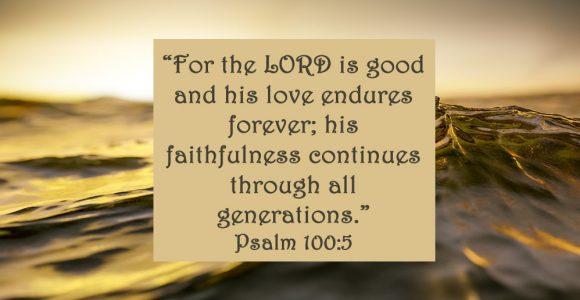 God Loves Me the Similar on Good Days and Unhealthy Days