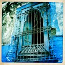 Derelict Blue Window