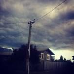 heavy skies above Hilltop