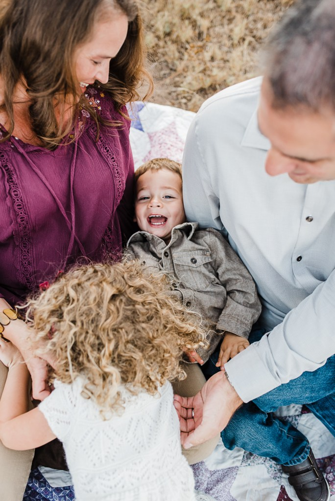 A family mini session at Mission Trails in San Diego California by Brandi of Thoughts By B