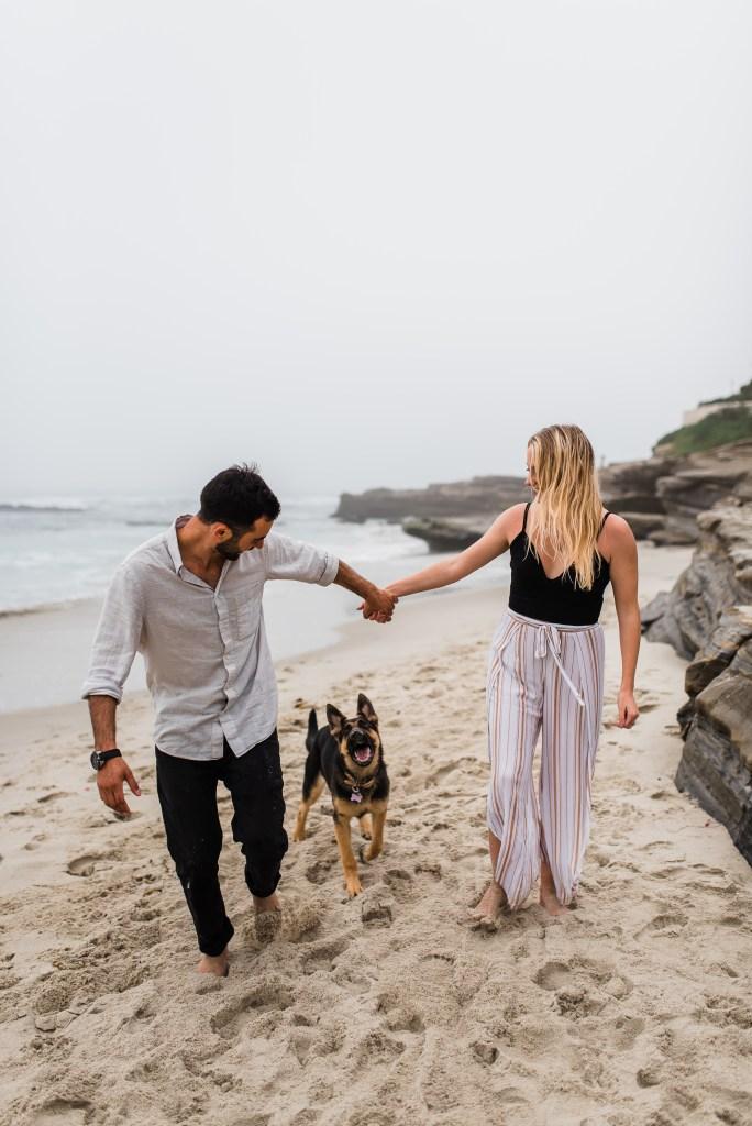 LOVE IS IN THE AIR | A BEACH SESSION | SAN DIEGO