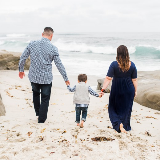 THE 'P' FAMILY | A BEACH MINI SESSION | SAN DIEGO PHOTOGRAPHER