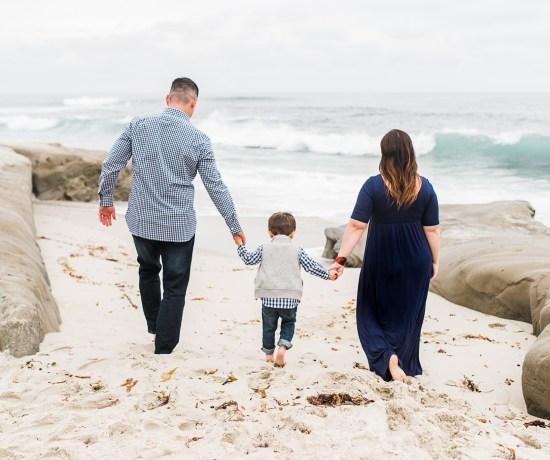 THE 'P' FAMILY | A BEACH MINI SESSION | SAN DIEGO PHOTOGRAPHER