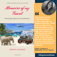 The review of Deepa Gandhi's Memoirs of my Travel
