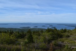 View from Cadillac Mountain Summit.
