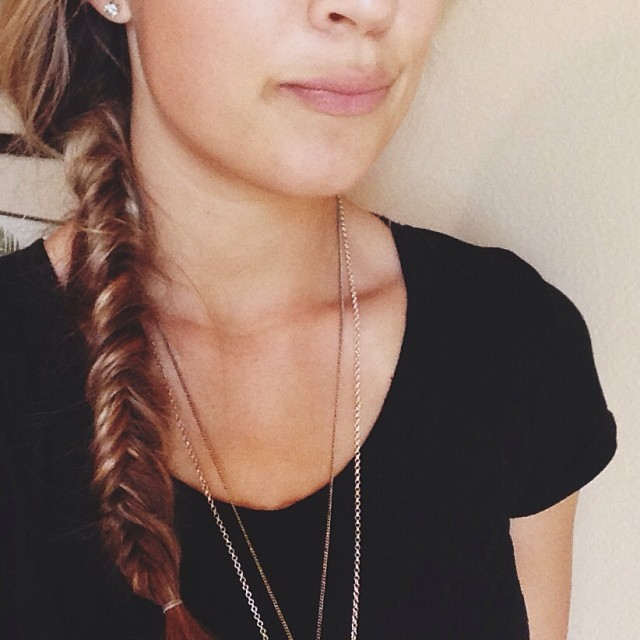Braids of Glory: The Fishtail Braid // thoughtsbynatalie.com