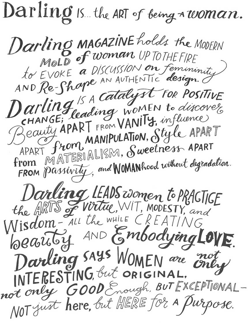 GIVEAWAY: Darling Art Prints // thoughtsbynatalie.com