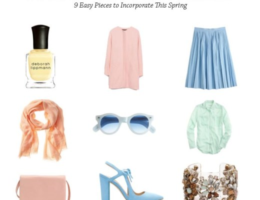 Practical Girl's Guide to Pastels // thoughtsbynatalie.com