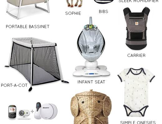 A Modern Neutral Baby Registry | Thoughts By Natalie