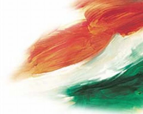 Indian flag - abstract