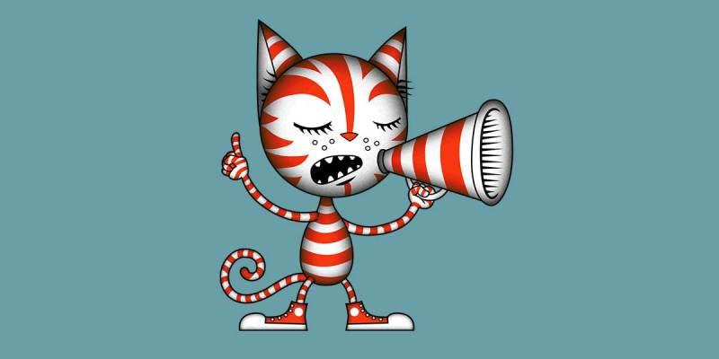 Free speech cat