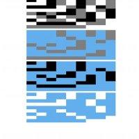 blue black icon