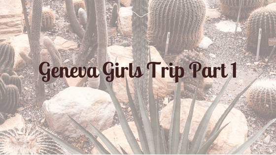 Geneva Girls Trip Part 1
